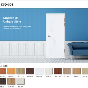 Cửa nhựa ABS KSD.305-K1129