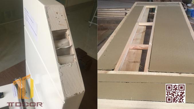 cấu tạo cửa gỗ MDF