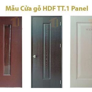 Mẫu Cữa gỗ HDF 1 Panel