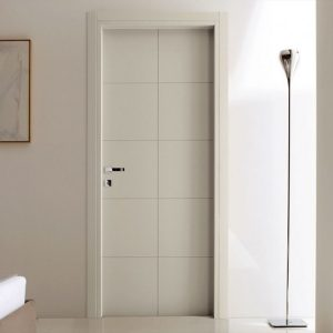 MẪu cửa gỗ MDF sơn trắng