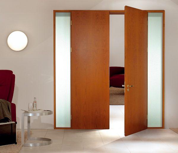 Mẫu cửa gỗ MDF 2 cánh
