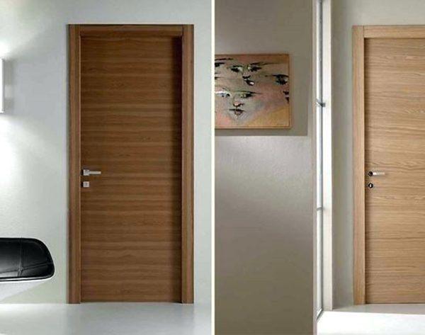 Mẫu cửa gỗ Melamine đẹp cho phòng ngủ