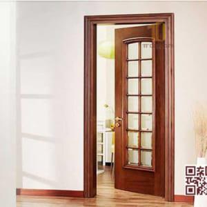 Cửa gỗ tự nhiên 1 cánh P1NO