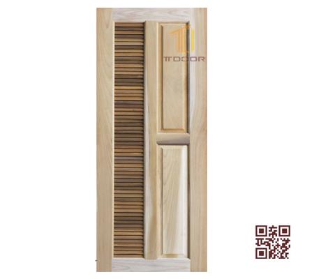 Cửa gỗ tự nhiên 1 cánh P1S1Y2