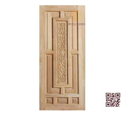 Cửa gỗ tự nhiên 1 cánh P1V1