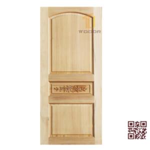 Cửa gỗ tự nhiên 1 cánh P1A3