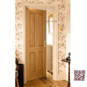 Cửa gỗ tự nhiên 1 cánh P1A4