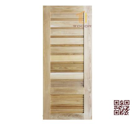Cửa gỗ tự nhiên 1 cánh P1NV1S