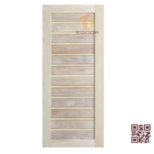 Cửa gỗ tự nhiên 1 cánh P1NX