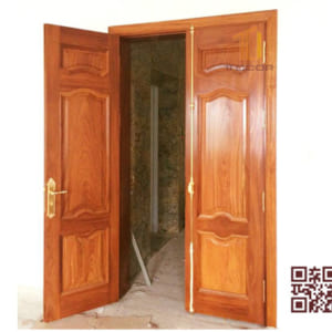Cửa gỗ tự nhiên 2 cánh P3A2