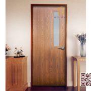 Cửa gỗ MDF Veneer TT.P1G1-ASH