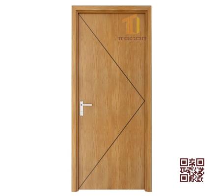 Cửa gỗ MDF Veneer TT.P1K1-Sồi
