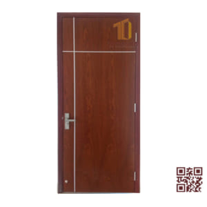 Cửa gỗ MDF Veneer TT.P1XY1-Xoan Đào