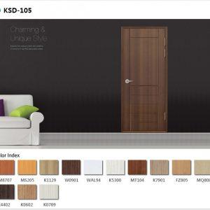 cửa nhựa ABS mẫu Ksd.105-w0901