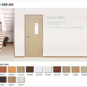 Mẫu cửa nhựa Abs Ksd.201