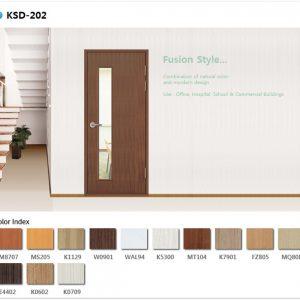 Mẫu cửa nhựa ABS KSD 202