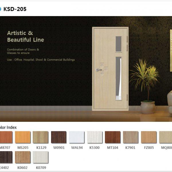 Mẫu cửa nhựa ABS Ksd.205
