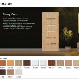cửa nhựa abs KSD 207