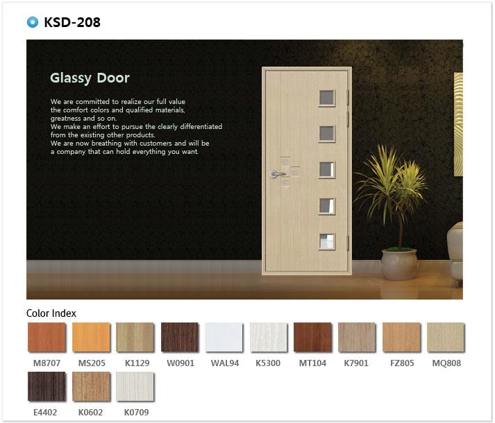 Mẫu cửa nhựa ABS KSD.208