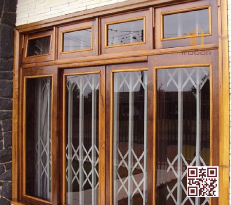Cửa sổ bằng gỗ P4K4S1