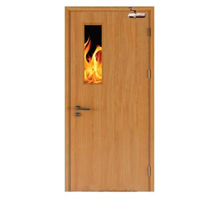 Cửa gỗ chống Cháy K