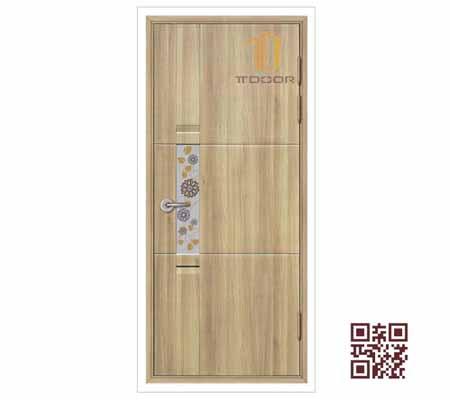 Cửa nhựa Hàn Quốc giả chính hãng rẻ tại TPHCM - Mẫu 19 (KSD.116A-K1129)