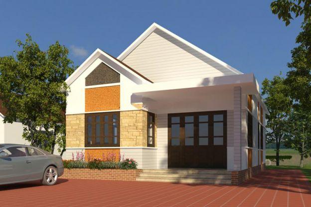 Mẫu 17: Các kiểu nhà trệt đơn giản này luôn luôn được tạo ra bởi các thiết kế nhà và đổi mới liên tục