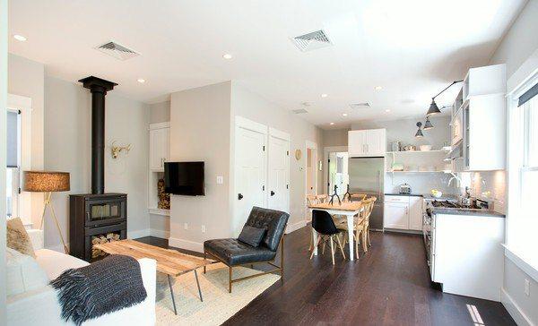 Nội thất phòng khách ngồi nhà cấp 4 – chi phí 350 triệu