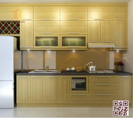 Tủ Bếp gỗ Ghép I01