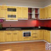 Tủ bếp gỗ ghép 101