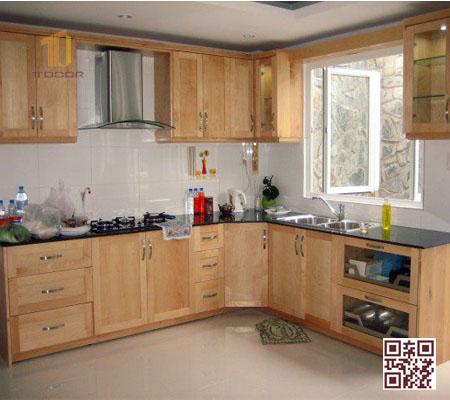 Tủ Bếp Gỗ Tự Nhiên TT.L06