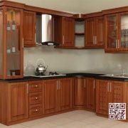 Tủ Bếp Gỗ Tự Nhiên TT.L14