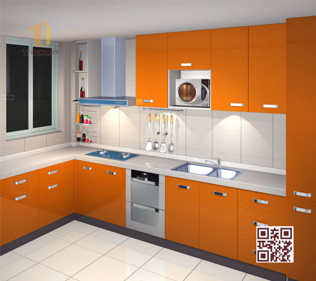 Tủ Bếp MDF L01