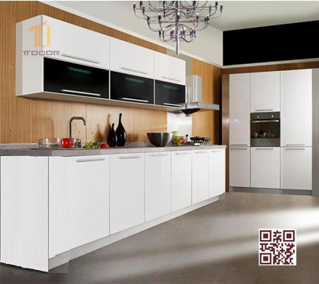 Tủ bếp MDF I02