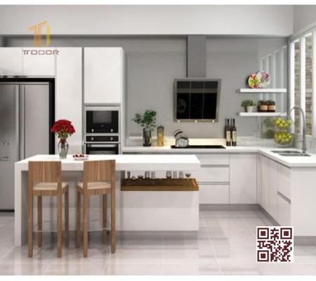 Tủ bếp MDF LD01