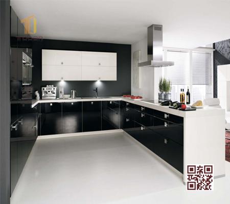 Tủ bếp MDF U01