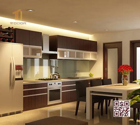 Tủ bếp Melamine I01