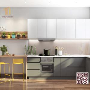 Tủ bếp Melamine I03
