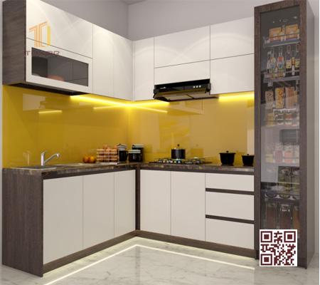 Tủ bếp Melamine I04