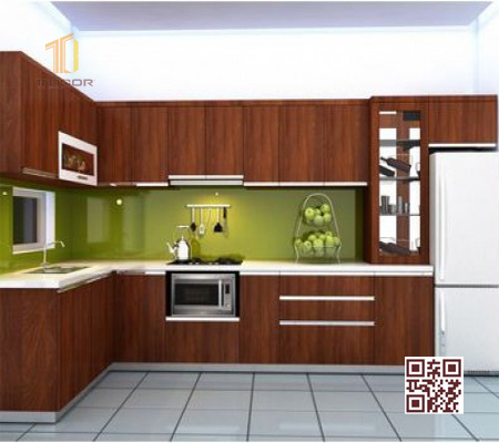 Tủ Bếp Melamine L08