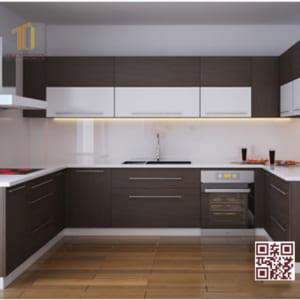 Tủ bếp Melamine U02
