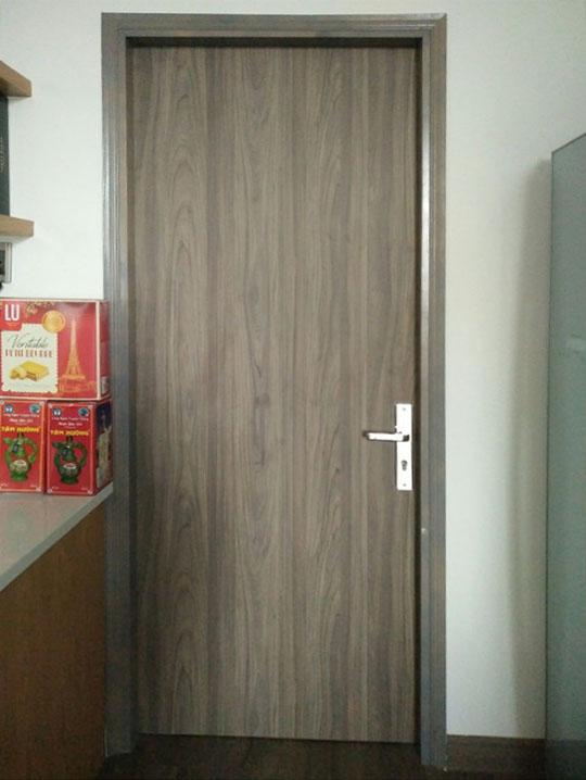 mẫu cửa gỗ phủ nhựa PVC