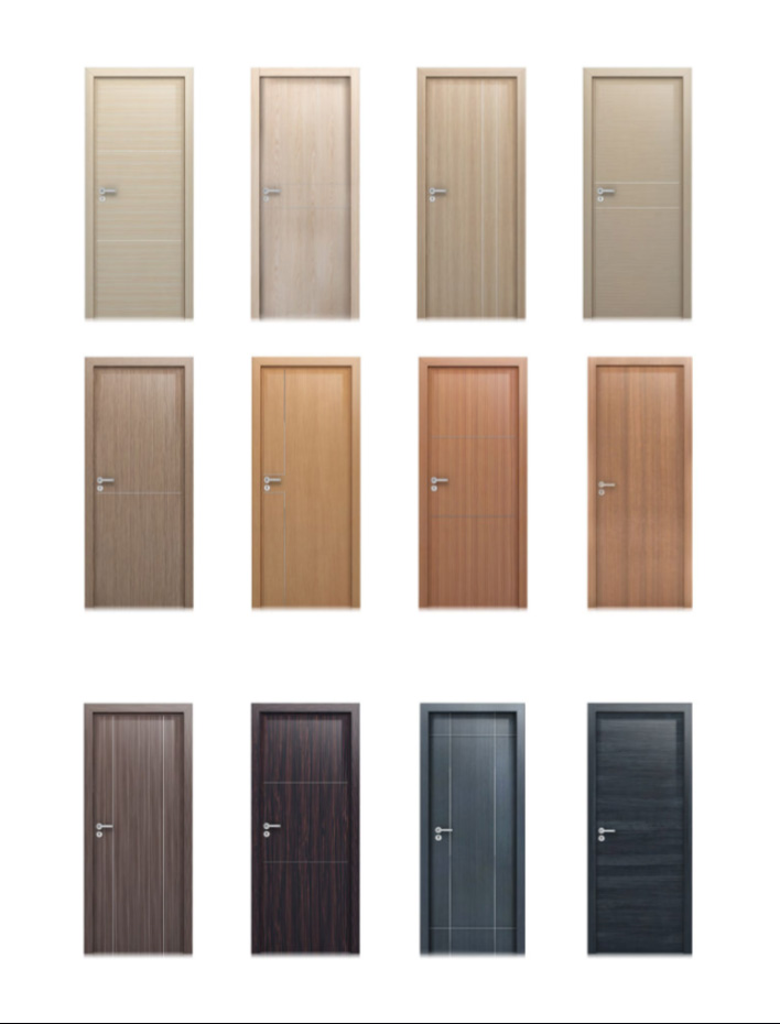 Các mẫu cửa gỗ laminate đẹp