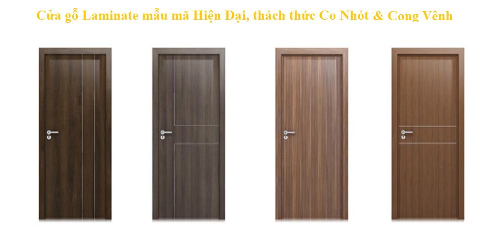 Mẫu cửa gỗ Laminate ttdoor