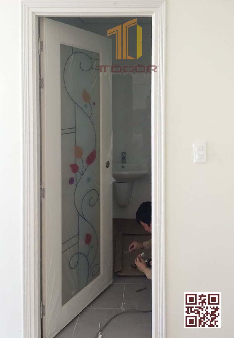 Cửa Nhựa Đài Loan phòng ngủ nhà vệ sinh giá rẻ TTDOOR