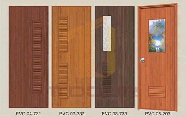 Cửa Nhựa giả gỗ cho nhà vệ sinh nhà tắm Y@door