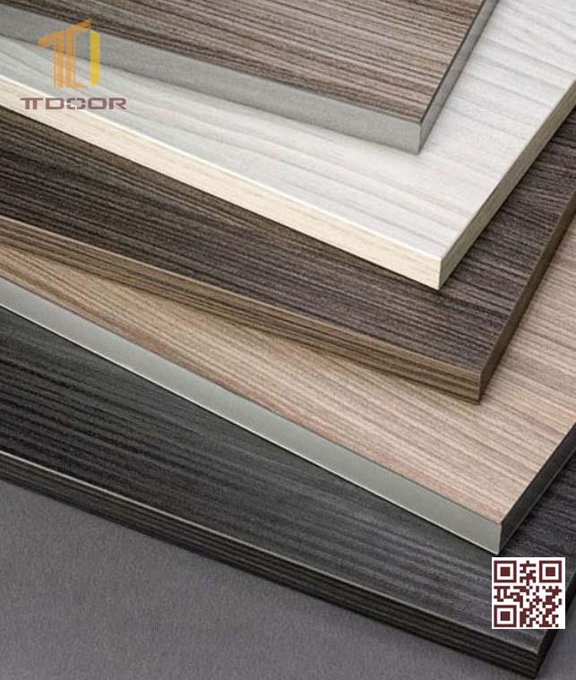 Màu sắc Cửa gỗ công nghiệp Melamine