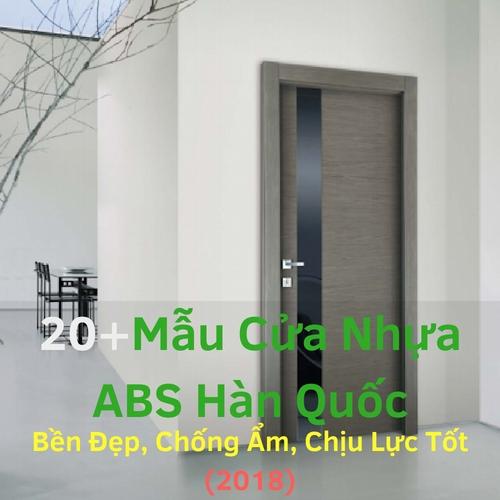 Mẫu Cửa Nhựa ABS Hàn Quốc