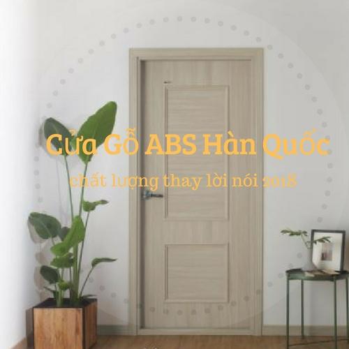 Cửa Gỗ ABS Hàn Quốc