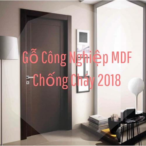 Gỗ Công Nghiệp MDF Chống Cháy 2018